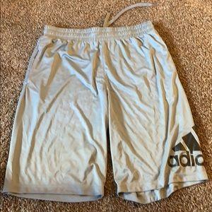 Men's Adidas Grey Athletic Shorts